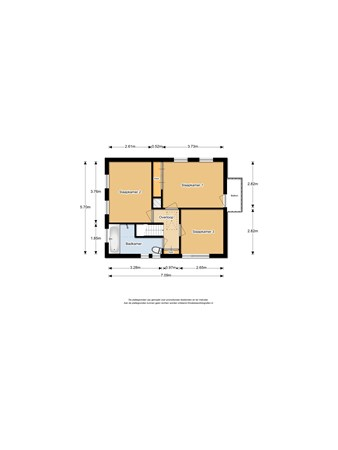 Floorplan - Looistraat 9, 6582 BA Heumen