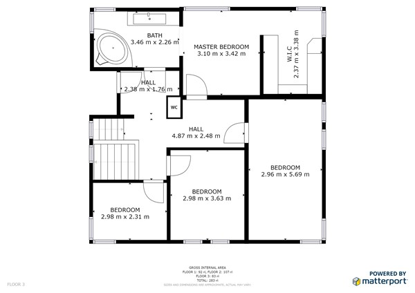 Floorplan - Meldertsesteenweg 55, 3583 Beringen