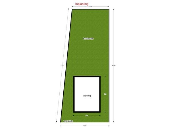 Floorplan - Heidevijversstraat 10, 3580 Beringen