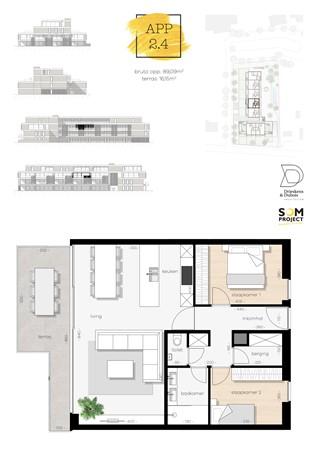 Floorplan - De Hoeven 31-2.4, 3550 Heusden-Zolder