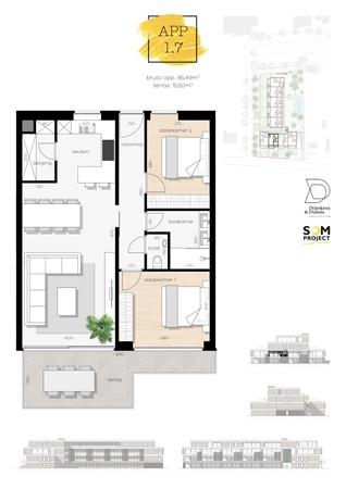 Floorplan - De Hoeven 31-1.7, 3550 Heusden-Zolder