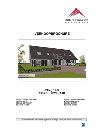 Brochure preview - Brochure Sleeg 15-B te Zevenaar.pdf