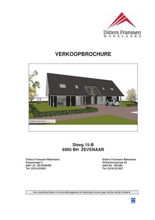 Brochure preview - Brochure Sleeg 15-B te Zevenaar.pdf
