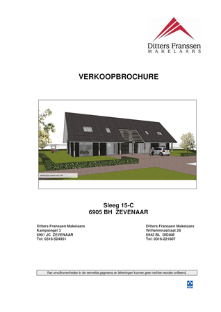 Brochure preview - Brochure Sleeg 15-C te Zevenaar.pdf