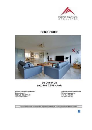 Brochure preview - Brochure De Olmen 28 te Zevenaar.pdf