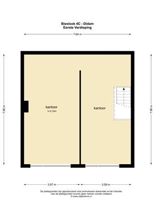 Plattegrond - Bieslook 4C, 6942 SG Didam - 82378_EV.jpg