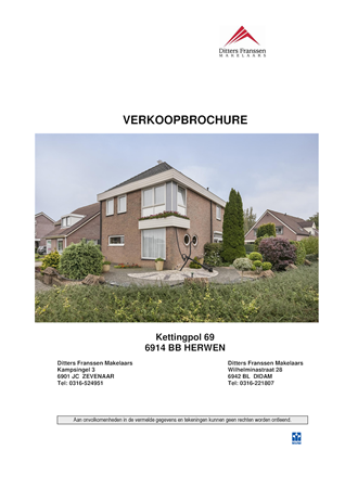 Brochure preview - brochure kettingpol 69 te herwen