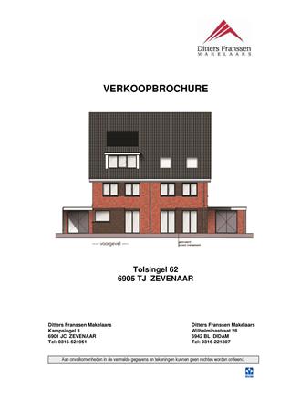 Brochure preview - brochure tolsingel 62 te zevenaar