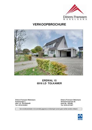 Brochure preview - brochure erdwal 15 tolkamer