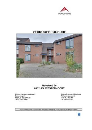 Brochure preview - brochure raveland 26 te westervoort