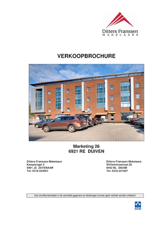 Brochure preview - brochure marketing 26 te duiven