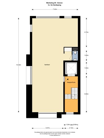 Floorplan - Marketing 26, 6921 RE Duiven