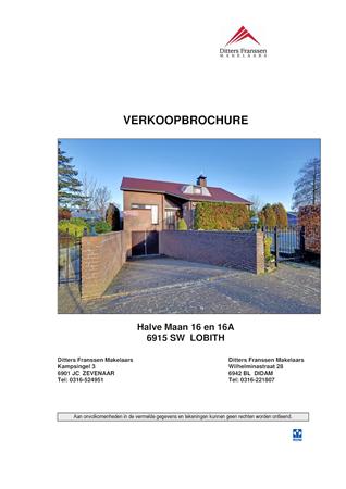 Brochure preview - brochure halve maan 16 16a te lobith