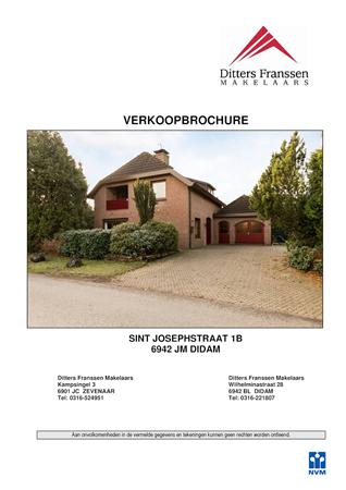 Brochure preview - brochure st. josephstraat 1b te didam