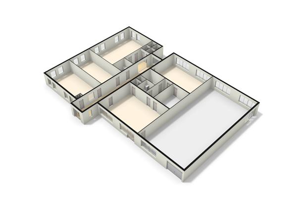 Floorplan - Aalsbergen 9, 6942 SE Didam