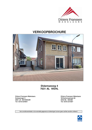 Brochure preview - brochure didamseweg 4 te wehl