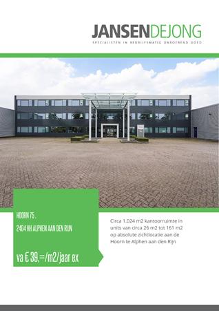 Brochure preview - Hoorn 75-., 2404 HH ALPHEN AAN DEN RIJN (1)