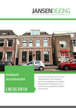 Brochure preview - Wilhelminalaan 10, 2405 ED ALPHEN AAN DEN RIJN (1)