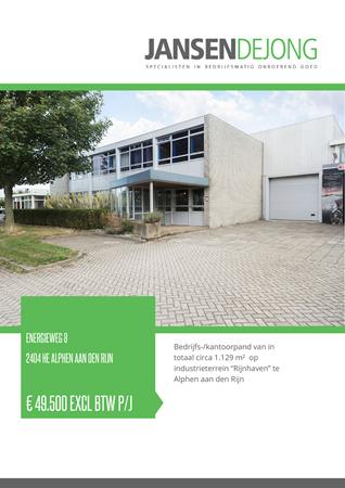 Brochure preview - Energieweg 8, 2404 HE ALPHEN AAN DEN RIJN (1)