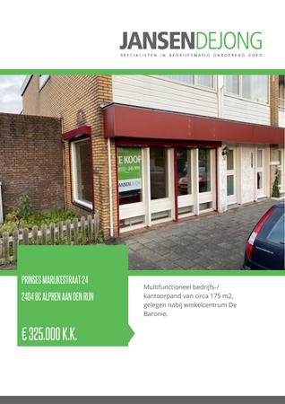 Brochure preview - Prinses Marijkestraat 24, 2404 BC ALPHEN AAN DEN RIJN (1)