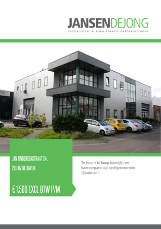 Brochure preview - Jan Tinbergenstraat 24-., 2811 DZ REEUWIJK (1)