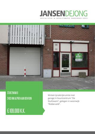 Brochure preview - Stuifzwam 8, 2403 HM ALPHEN AAN DEN RIJN (1)