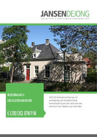Brochure preview - Wilhelminalaan 1-A, 2405 EB ALPHEN AAN DEN RIJN (1)