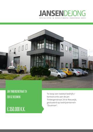 Brochure preview - Jan Tinbergenstraat 24, 2811 DZ REEUWIJK (1)