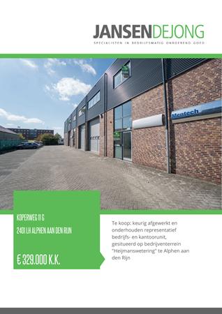 Brochure preview - Koperweg 11-G, 2401 LH ALPHEN AAN DEN RIJN (1)
