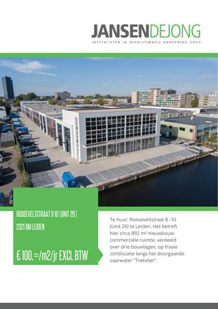 Brochure preview - Rooseveltstraat 8-10 (Unit 26), 2321 BM LEIDEN (1)