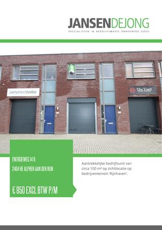 Brochure preview - Energieweg 14-B, 2404 HE ALPHEN AAN DEN RIJN (1)