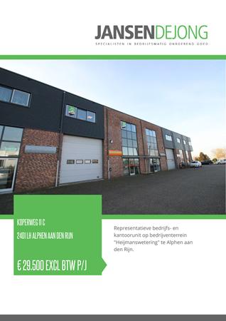 Brochure preview - Koperweg 11-C, 2401 LH ALPHEN AAN DEN RIJN (1)