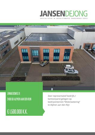 Brochure preview - Linnaeusweg 11, 2408 BX ALPHEN AAN DEN RIJN (1)