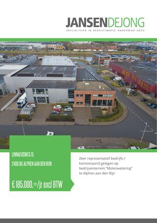 Brochure preview - Linnaeusweg 15, 2408 BX ALPHEN AAN DEN RIJN (1)