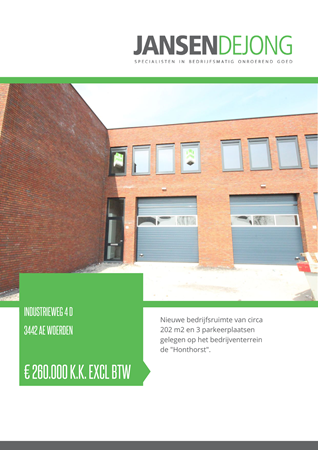 Brochure preview - Industrieweg 4-D, 3442 AE WOERDEN (1)