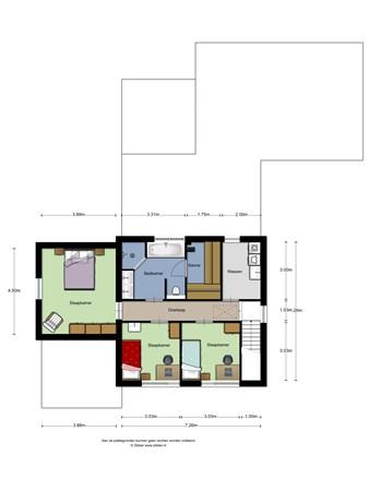 Floorplan - Merseloseweg 22, 5825 HB Overloon