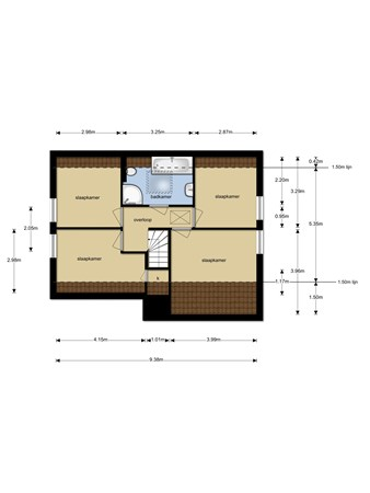 Floorplan - Ullingen 8, 5846 AW Ledeacker