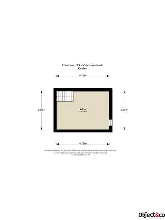 Floorplan - Staaiweg 23, 5821 AM Vierlingsbeek
