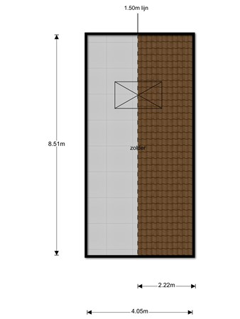 Floorplan - Heide 7, 5441 PR Oeffelt