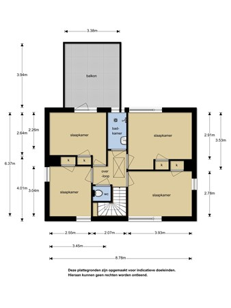 Floorplan - Parallelweg 2, 5854 RA Bergen L