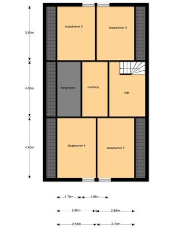 Floorplan - Voorkoopstraat 9, 4112 NM Beusichem