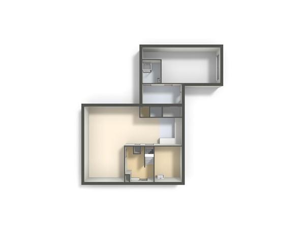 Floorplan - Ter Laan 18, 9781 TL Bedum