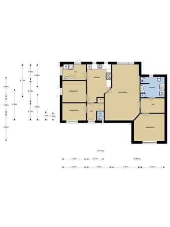Floorplan - Moleneind 2, 5335 LC Alem