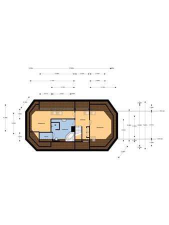 Floorplan - Stroeërschoolweg 8, 3776 MN Stroe