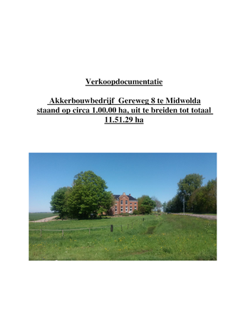 Brochure preview - verkoopdocumentatie  gereweg 8 midwolda