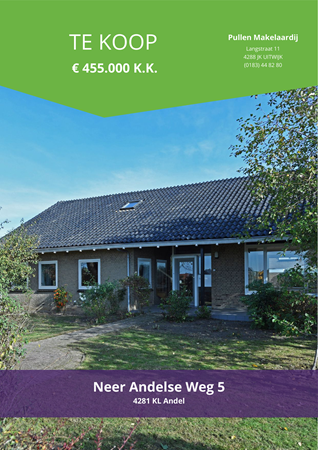 Brochure preview - Neer Andelse Weg 5, 4281 KL ANDEL (1)
