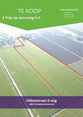 Brochure preview - Hillsestraat 0-ong, 4269 VH BABYLONIËNBROEK (1)