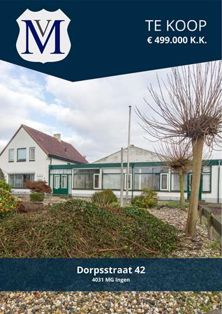 Brochure preview - Dorpsstraat 42, 4031 MG INGEN (1)