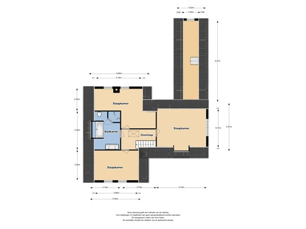 Floorplan - Nijenburg 17, 1613 LB Grootebroek