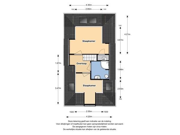 Floorplan - Westerstraat 31, 1601 AB Enkhuizen